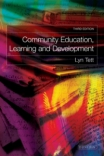 Jacket Image For: Community Education, Learning and Development